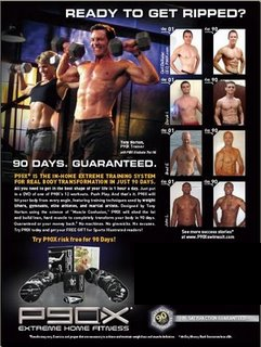 Get ripped in 90 days with P90X