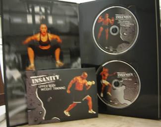 Insanity deluxe 13 DVD fitness program