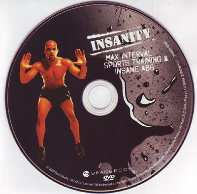 Insanity Max Interval Sports Training with Shaun t