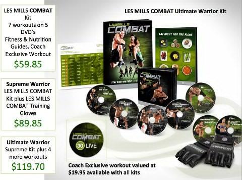 Les Mills Combat pre-order
