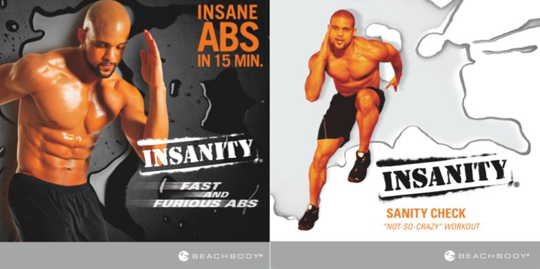 Insanity Workout - 2 New DVDs