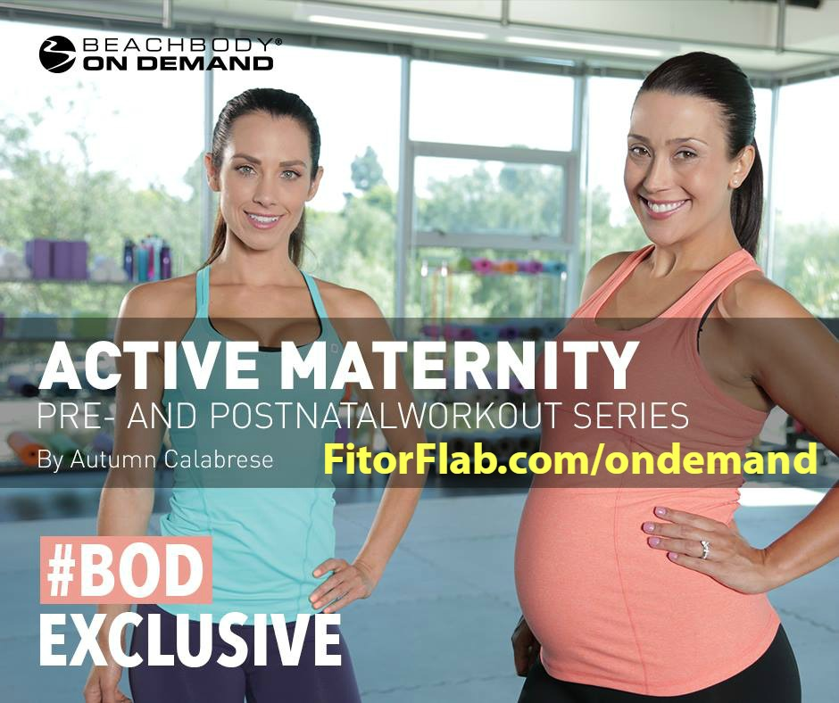 Active Maternity Workout Series with Autumn Calabrese