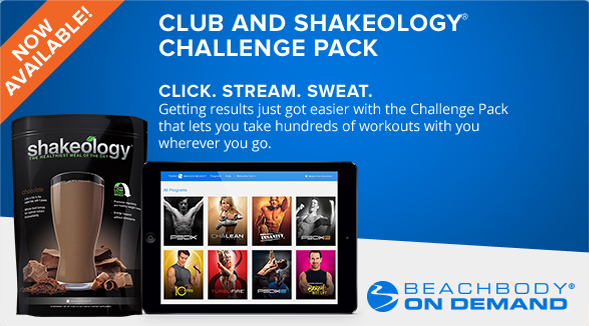 Team Beachbody Club and Shakeology Challenge Pack