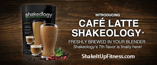 New Cafe Latte Shakeology