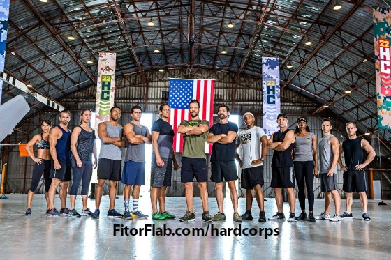 Hard Corps workout with Tony Horton