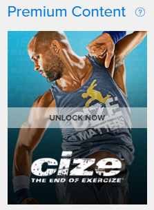 Unlock CIZE workout in Beachbody On Demand