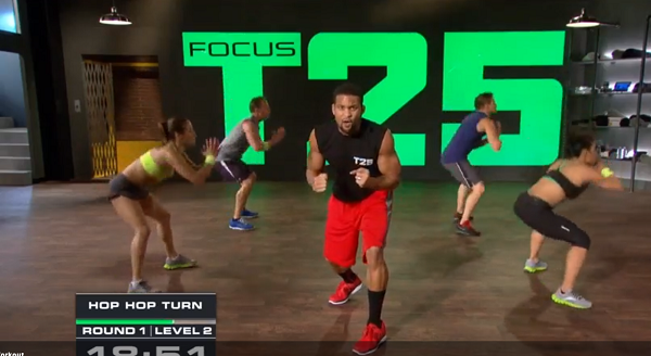 Focus T25 Gamma Speed workout