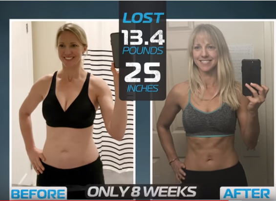 weight loss results with LIIFT4 workout