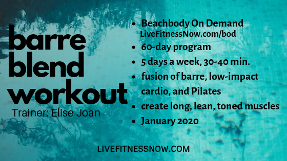 Barre Blend workout