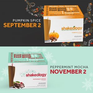 new shakeology flavors