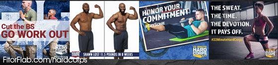 Tony Horton's 22 Minute Hard Corps Workout Available
