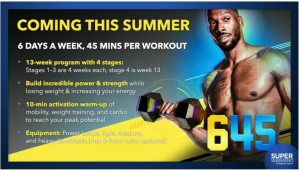 645 Workout with Amoila Cesar
